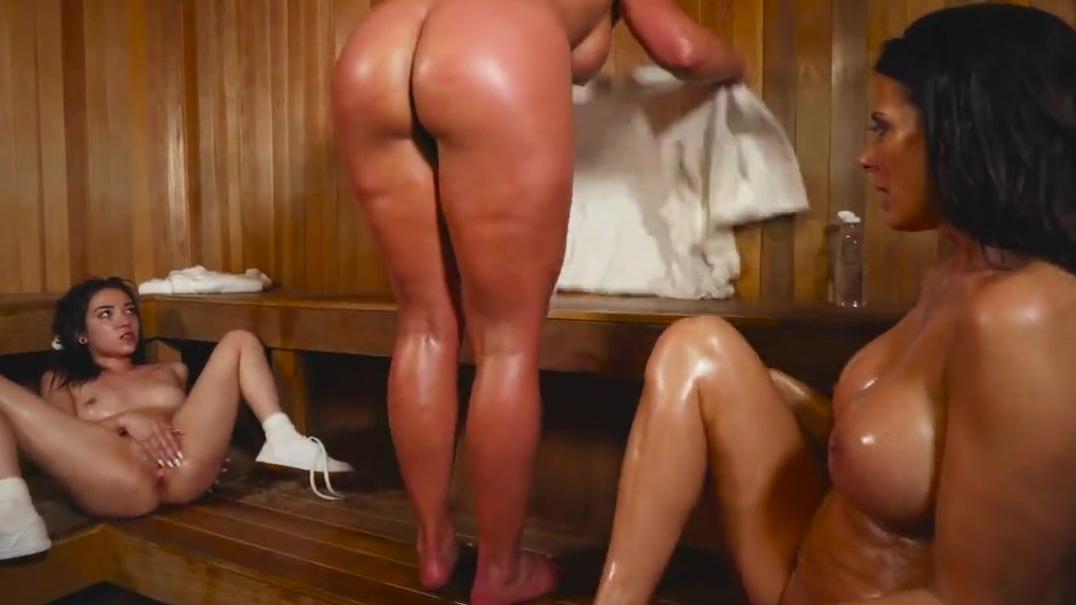 Threesome Sauna