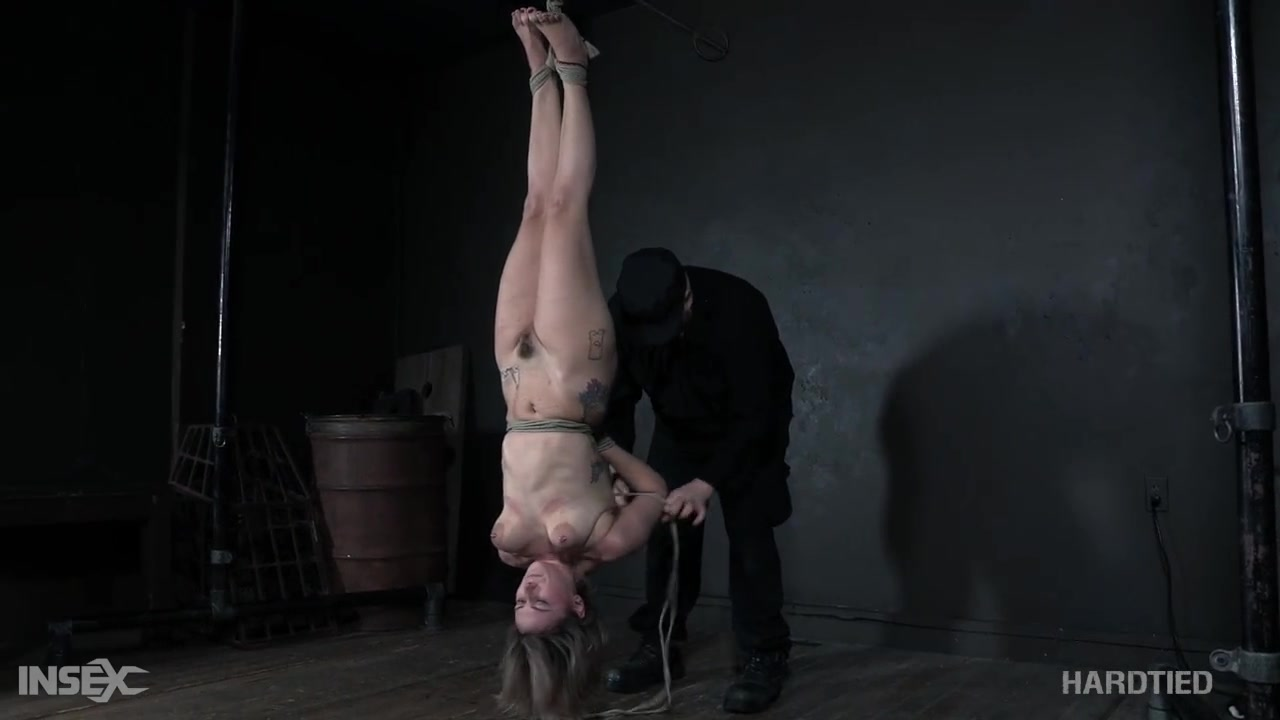 Rough Bondage Session For Kinky German Teen - LETSDOEIT&period