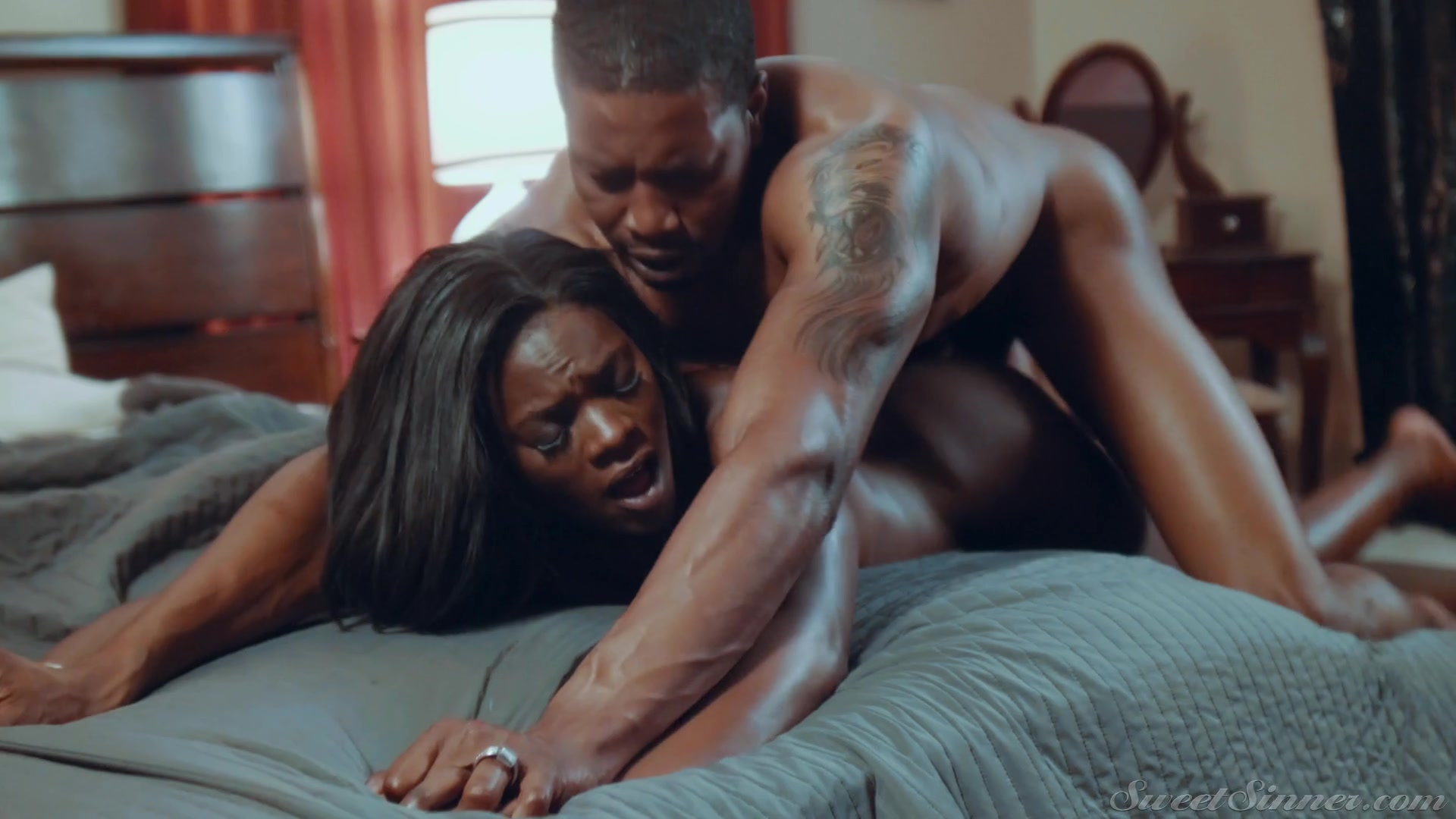 sex Ebony anal in chicks deep